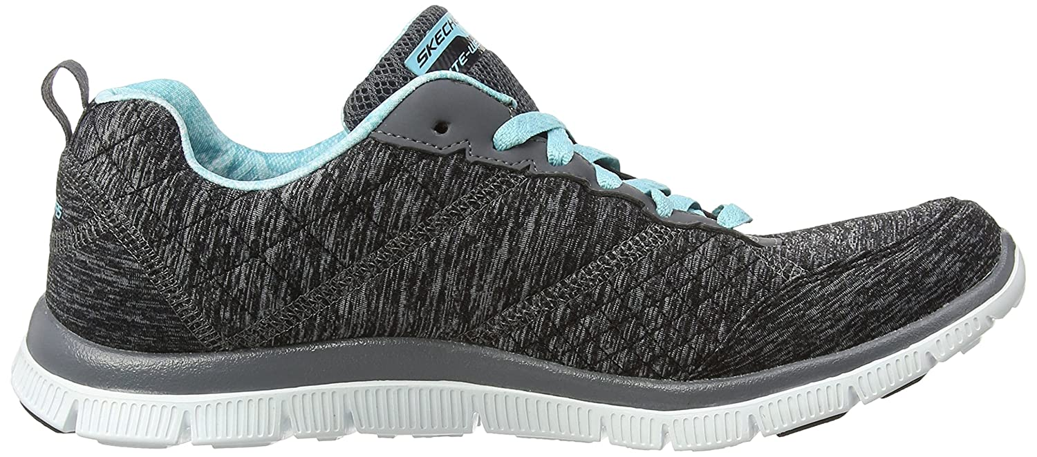 Skechers SKEES - Synergy- Style Watch - Baskets Sportives, Femme, Bleu (NVY), Taille 38